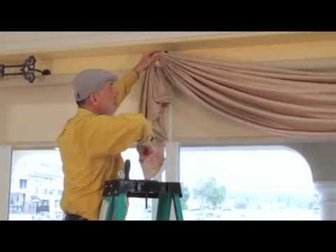 Video #36: DIY Drapery: Luxurious Window Treatments with Valances, Swags, Scrolls and Holdbacks