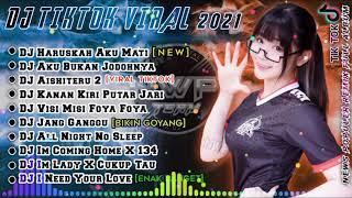 DJ AKU SEKUAT HATI BERTAHAN KAMU SEBISANYA MENGHANCURKAN x DJ HARUSKAH AKU MATI VIRAL TIKTOK 2021