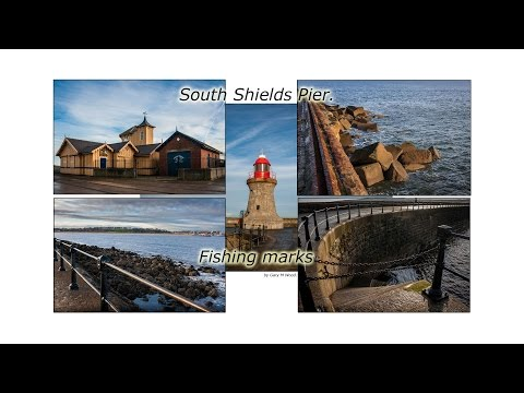 South Shields Pier - Fishing Marks