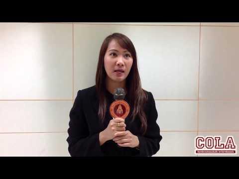 เสียงสัมภาษณ์ นางสาวพีรณัฐ เอี่ยมทอง ตัวแทนผู้สนใจเข้าศึกษาต่อ ในระดับปริญญาโท ที่ COLA KKU