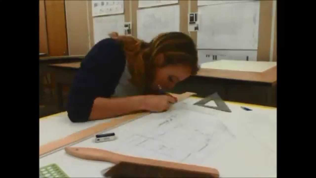 Time Lapse Interior Design Hand Drafting