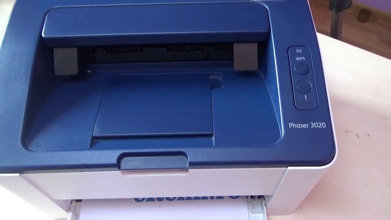 Download Mode Xerox Phaser 3020