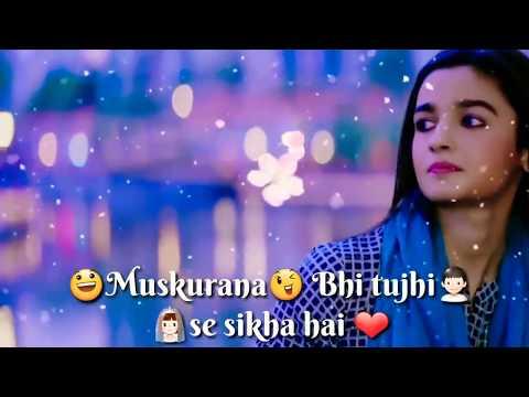 Humsafar | female version | Muskurana bhi tujhi se sikha hai | love | sad | whatsapp Status Video SG
