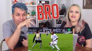 REACT ♫ SÓ LENÇOL TOP, BRO! | Paródia Bro - Raffa Moreira (FutParódias)