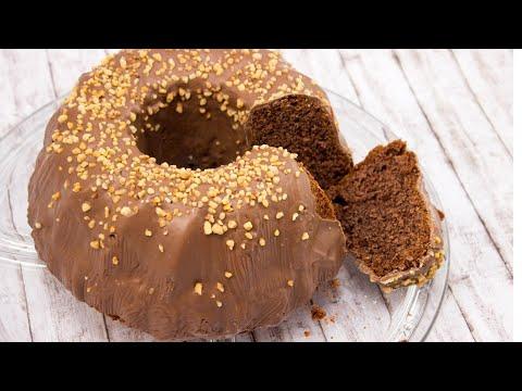 Nougat Krokant-Kuchen
