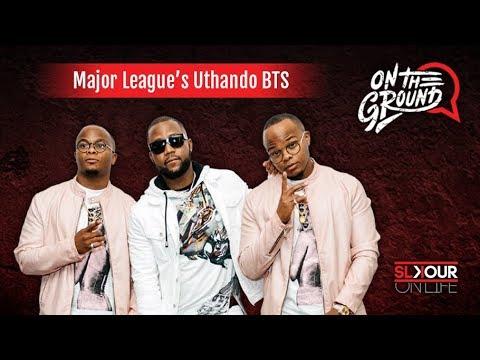 On The Ground: Major League DJz x Cassper Nyovest Talk #Uthando Inspo, #Colors x #MajorLeagueGardens