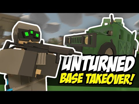 MILITARY BASE TAKEOVER - Unturned Raid | Military Roleplay (PVP)