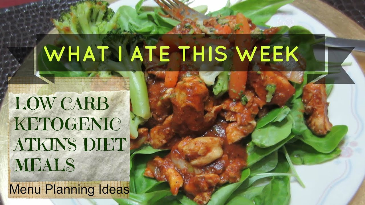 LOW CARB KETOGENIC DIET MEALS - Weight Loss Update - YouTube