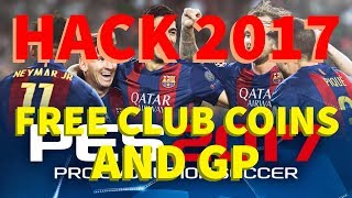 PES 2017 Hack | PES 2017 Free Club Coins And GP | Android And IOS