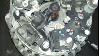 Замена щеток на генераторе Прамо 120А