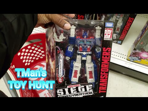 Still Hunting Transformers Siege Leaders & Surprise Gift!: TMan's TOY HUNT #157