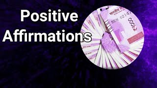Powerful money affirmations | money visualization to attract Indian currency | Indian money images