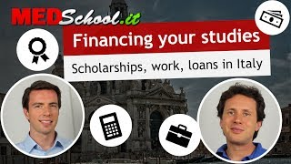 How can you finance your studies? - English Med Schools in Italy with Erik Campano and Alex O.