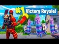3 LUCKY LLAMAS In ONE Game of Fortnite Battle Royale!