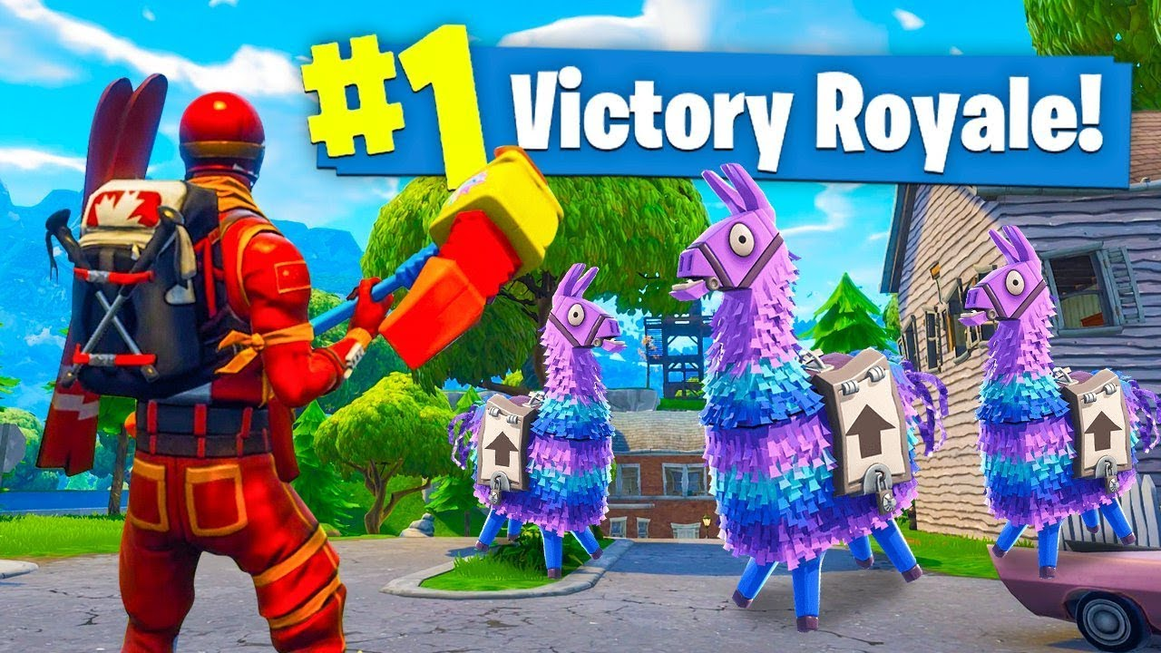 Lucky Llamas In One Game Of Fortnite Battle Royale