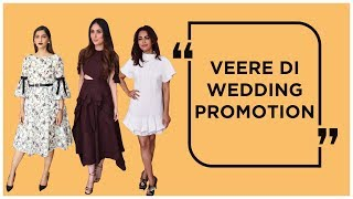 KARENA,SHIKHA TALSANIA,SWARA & SONAM SPOTTED DURING VEERE DI WEDDING PROMOTION | Appearances