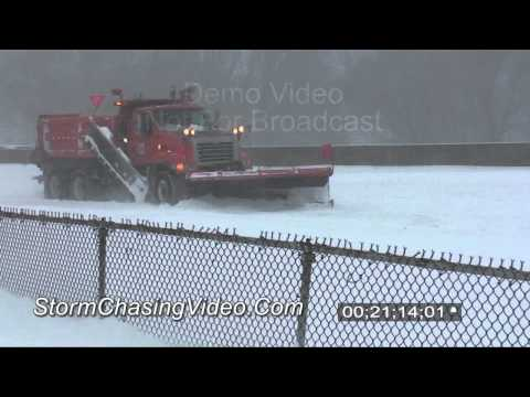 12/11/2010 Minneapolis, MN full raw stock footage from the 2010 blizzard