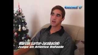 Marcos Sartor camiña Historias cotidianas, Canal 7 CVJ