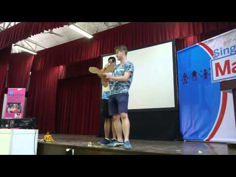 Erik Thortennson, Founder, Strawbees Making in Education MakerFaire Singapore 2015