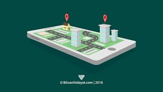 How to Create Road Location Isometric - Illustrator Tutorials For Beginners