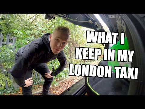 What's in my London Taxi ???