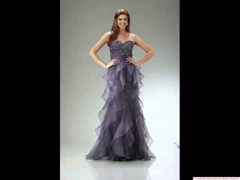 Amazing grey prom dress - The best prom dresses ever!!! - YouTube