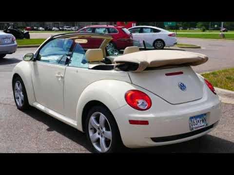 2007 Volkswagen New Beetle Convertible Minneapolis MN St-Paul, MN #M92393X