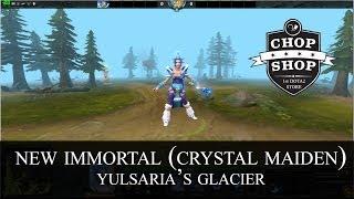 new crystal maiden immortal yulsaria s glacier