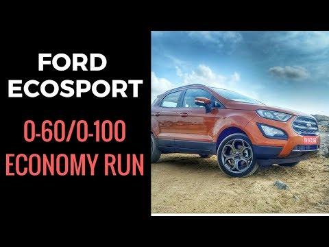 Ford EcoSport S EcoBoost 0-60 / 0-100 / Fuel Economy runs