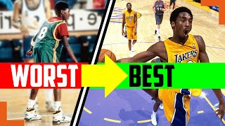 How Kobe Bryant Went From Worst To Best In Only 2 Years - Kobe's Mamba Mentality Secrets Revealed