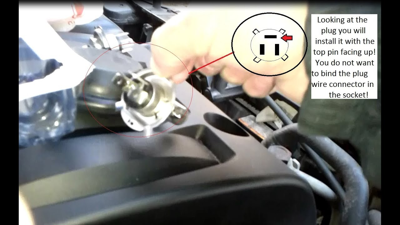 2009 Hyundai Accent Oe Head Light Bulb Replacement Youtube Wiring A L Socket As Well How To Wire