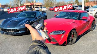 Here's Why the 2020 Supra is OVERRATED... *$60,000 SPORTS COUPE SHOOTOUT*