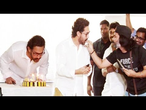 Aamir Khan's 52nd BIRTHDAY 2017 Celebrations Full Video HD