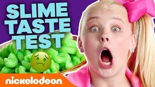 Slime Foods Taste Test w/ Jace Norman, JoJo Siwa & More! 🤢 | #NickStarsIRL