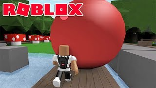 PUSHING A 1,000,000 POUND BALL IN ROBLOX (EPIC MINI GAMES)