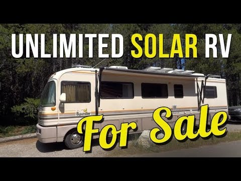 Ultimate Off Grid Solar RV - For Sale!
