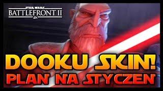 DATA PREMIERY DOOKU ZE SKINEM I EVENTY W STYCZNIU! ☄️ STAR WARS BATTLEFRONT 2 PL