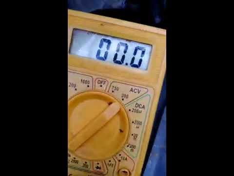 Как проверить генератор китайского скутера