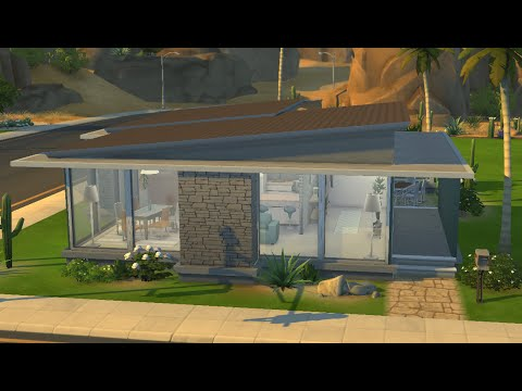 sims 4 house building small modernity