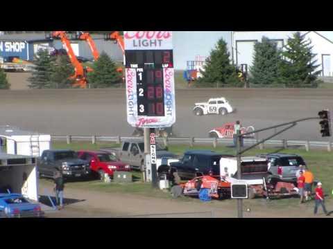 Dacotah Speedway INEX Legend Heats (Governor's Cup Night #2) (7/30/16)