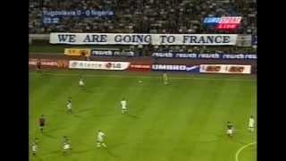 1998 Yugoslavia - Nigeria friendly full match