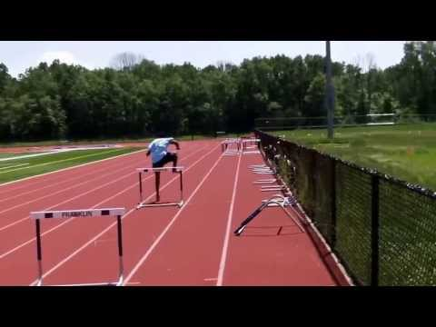 How to run the 110 and 100 meter hurdles