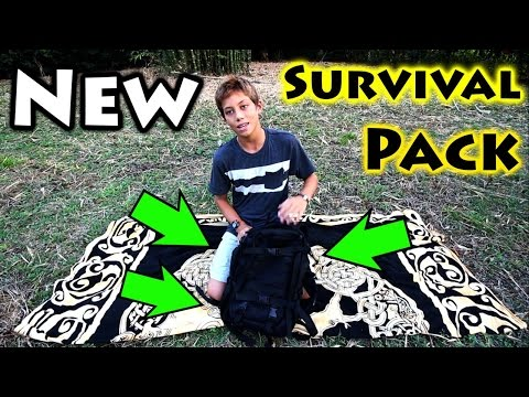 New & Improved Bug Out Bag + Survival Kit