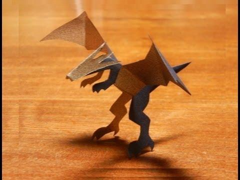 Дракон Kiriorigami