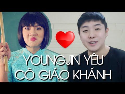 YoungJin yêu cô giáo Khánh pặc pặc // 사랑해요 꼬 자오 카잉♥