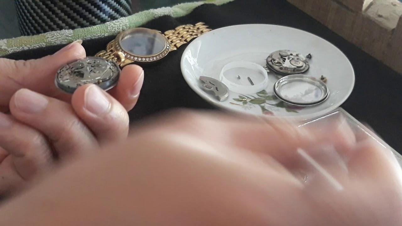 tháo và vệ sinh tự động cho đồng hồ /Automatic disassembly and cleaning for the watch