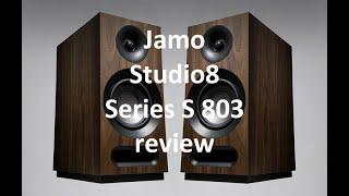 Jamo's $200/pair S-803 speakers kick butt #speakerreviews