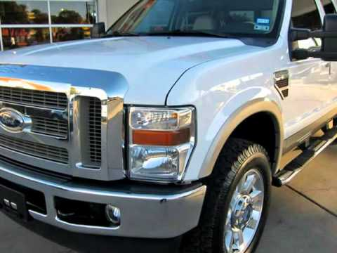 2010 Ford Super Duty F250 Crew Cab Lariat 4x4 With Lariat Ultimate Package And Diesel Engine (Ft....