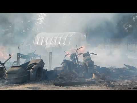 Омутнинский район. В Черной Холунице дотла сгорели два дома