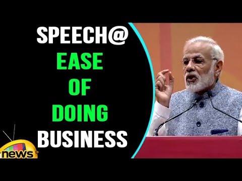 PM Modi speech At Ease Of Doing Business Event In New Delhi | Mango News
